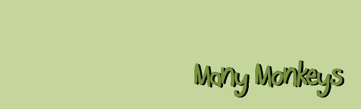 many monkeys