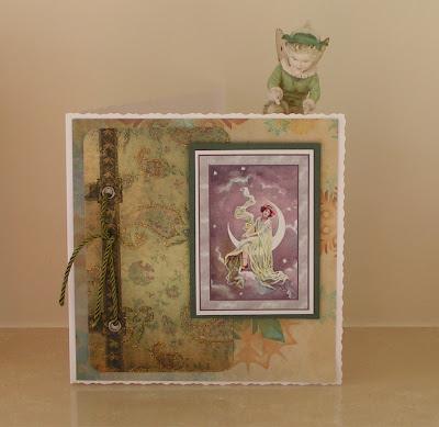 fairy greetings card