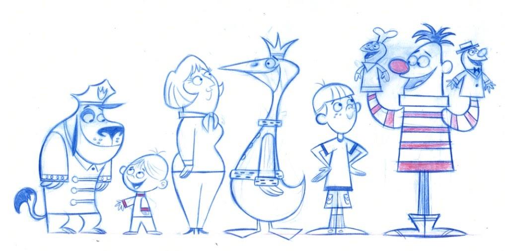 Character Design In Cartoons : Mark christiansen s art and cartoon network
