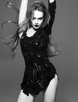 Lindsay Lohan Interview Magazine Pics