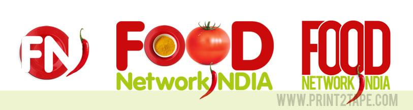 Print2tape Food Network Logo