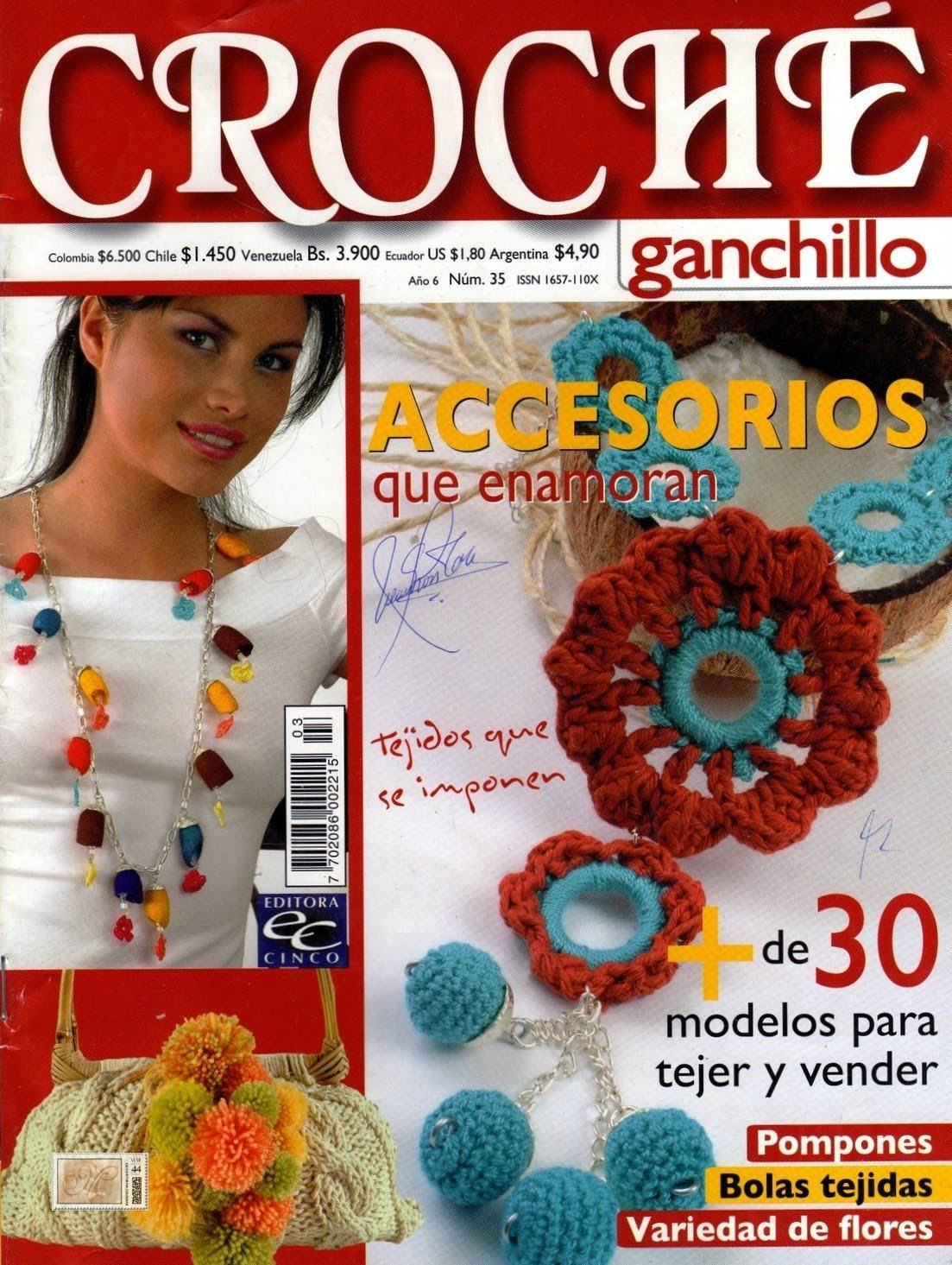 Revistas de crochet: abril 2010