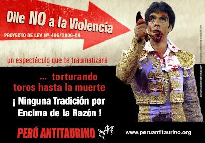 Resultaría progresista o revolucionario abolir la Tauromaquía AFICHE+GENERAL+PERU+ANTITAURINO