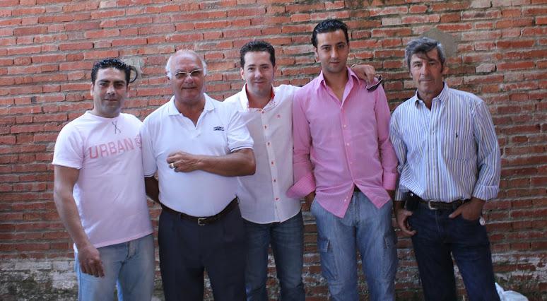 Con banderilleros naturales de Algeciras.