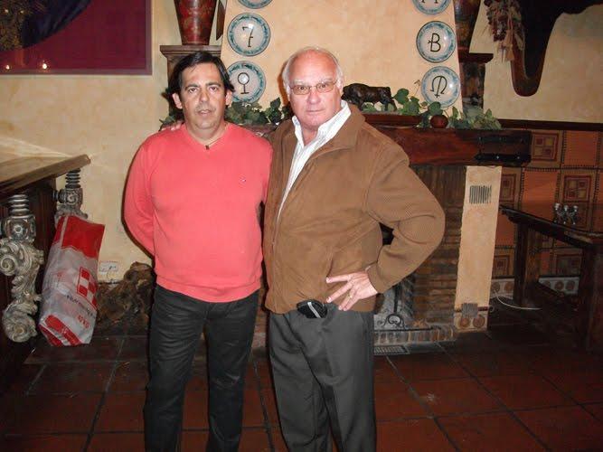 Con Curro Mateo