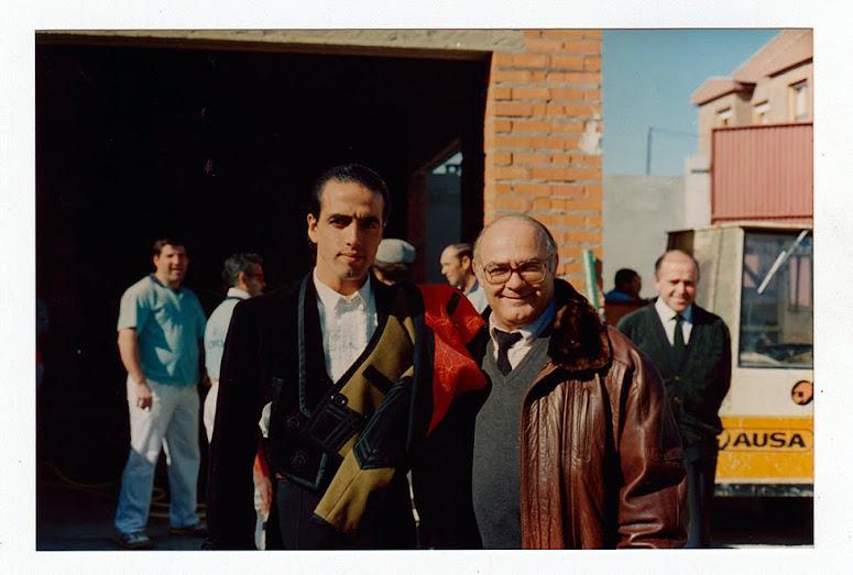 Con David Luguillano.