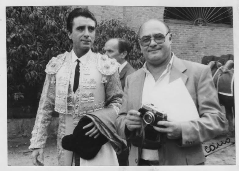 Con Ortega Cano.