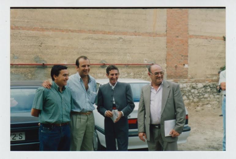 Con Beltrán Núñez y Carlos Gallego