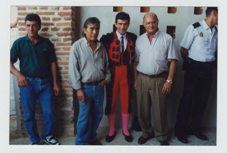 Con Carmelo y El Cali en Medina.