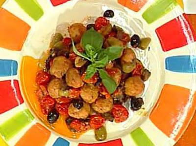 Ricetta Polpettine Pomodorini e Olive - La Prova del Cuoco - Lunedì 13 settembre 2010