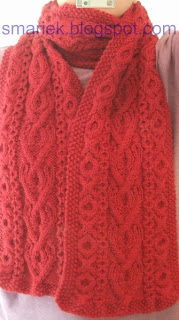 St Albans Scarf by Smariek Knits