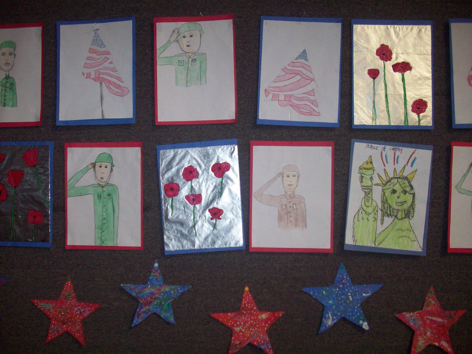 mrs porter s palette veterans day veterans day is very important at our school we have a big assembly every year to honor those who have served for our country all of the students write