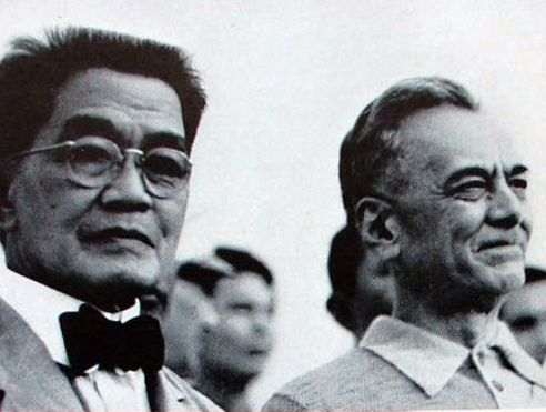 Emilio Aguinaldo and Manuel Quezon