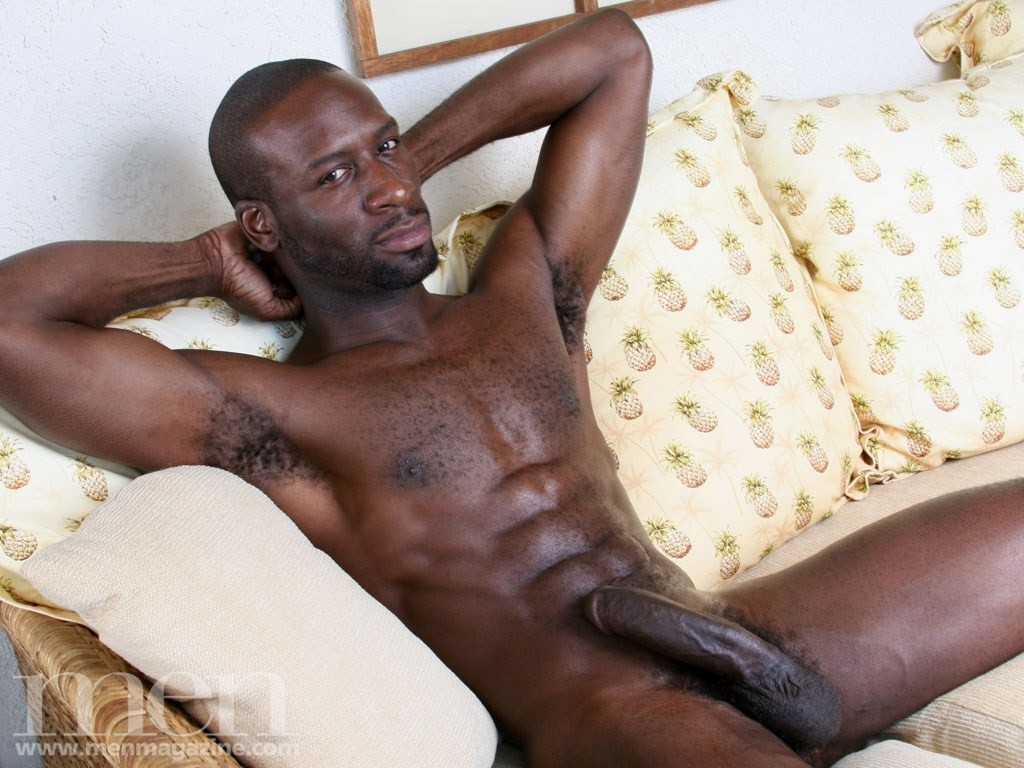 Gay male with big black dick