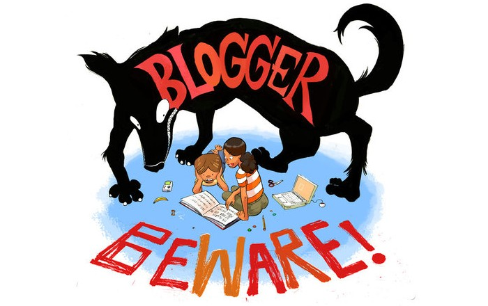 blogger beware: the goosebumps blog
