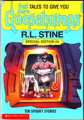 30 Tales to Give You Goosebumps by R. L. Stine Hardcover) and Write Your Own Fright