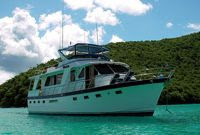 Charter motor yacht Shining Star in the Virgin Islands with ParadiseConnections.com