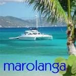 Charter catamaran Marolanga with ParadiseConnections.com