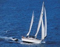 Charter yacht Corus. Sail Dive the BVI. Contact ParadiseConnections.com for booking details