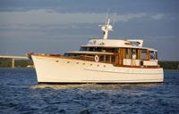 Cruise in style aboard the classic Trumpy, WISHING STAR. Book with ParadiseConnections.com