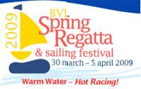 Charter a yacht for the BVI Spring Regatta and Sailing Festival - Contact ParadiseConnections.com