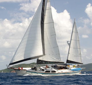 Charter Yacht THREE MOONS - Virgin Islands Sailing Vacations - Contact ParadiseConnections.com