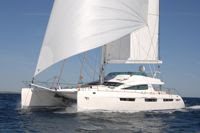 Charter catamaran MATAU this winter in the Caribbean with ParadiseConnections.com