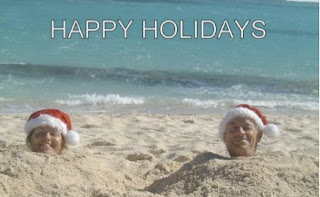 Happy Holidays from Sandcastle - Book your holiday sailing vacation with Paradise Connections Yacht Charters