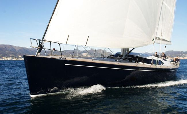 Matelot is a beautiful Bruce Farr designed Nauta 80 Deck Saloon built by ...