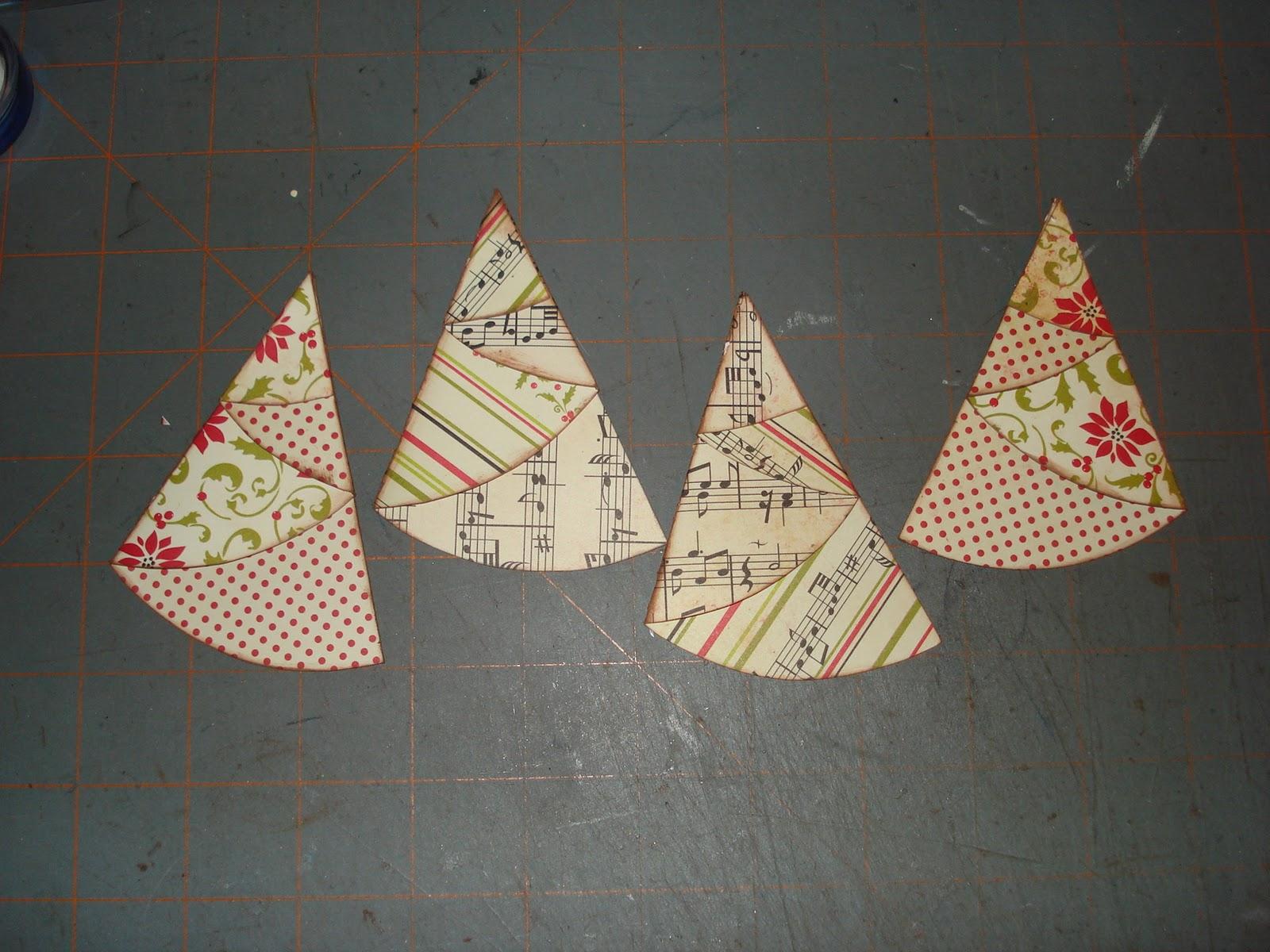 A Creative Operation: FOLDED CHRISTMAS TREES!!!!!