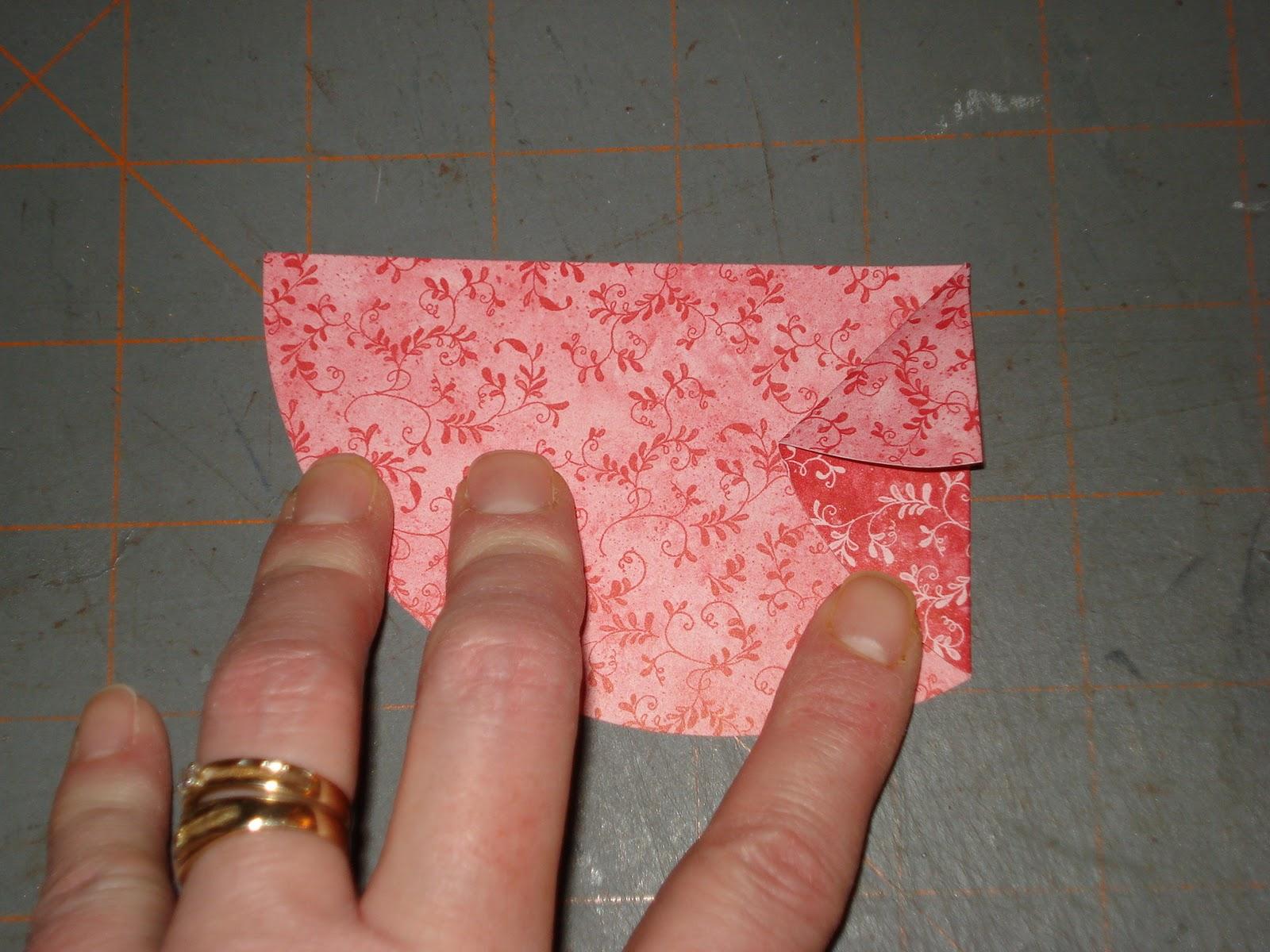 Folded fabric christmas tree pattern - Folded Christmas Trees