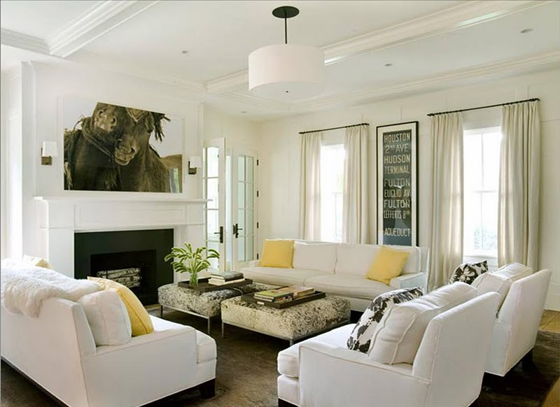 Morrone Interiors Adding Bold Accents To Neutral Rooms