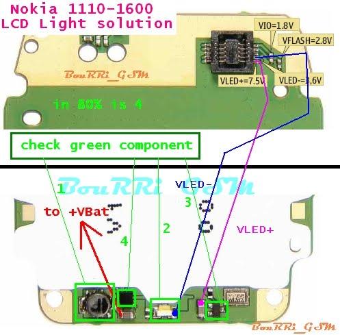 2600 lcd jumper. LCD Light problem