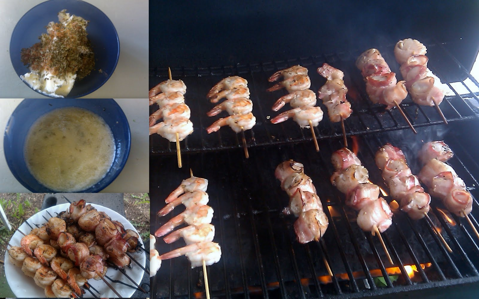 Simply Simmer: Grilled Bacon Wrapped Scallops