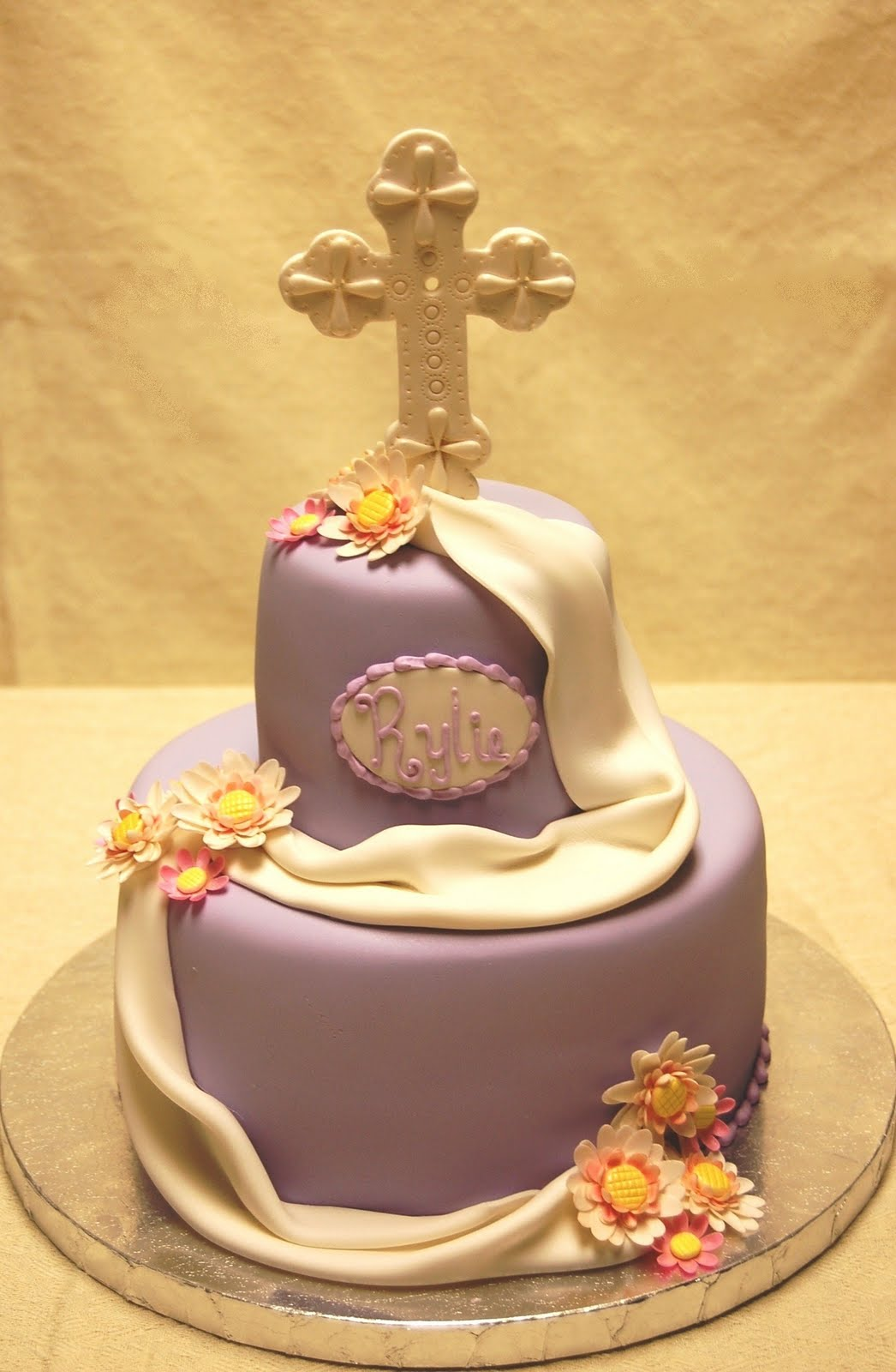First Communion Cake Images : Drea s Dessert Factory: First Communion Cake