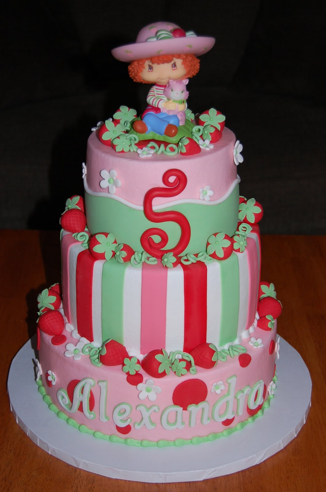 Strawberry Shortcake Cake Images & Pictures - Becuo