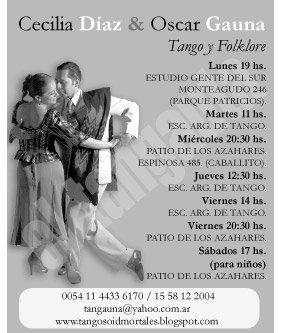 Publicidad El Tangauta. Abril 2009