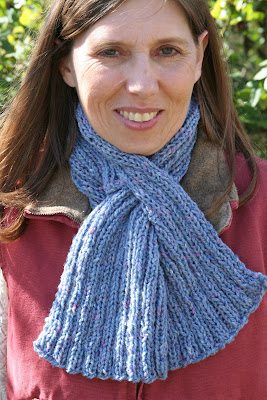 Pre-printed Pattern: Keyhole Scarf (Adult) at Lion Brand Yarn