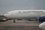 I Havn't seen Geruda Airline A330 in Juanda, Surabaya before and yet i saw . (img )