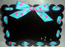 Magnet Frame-Girly Dots (SMP-M004)