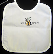 Bee Happy Bib (SMP-BK006)