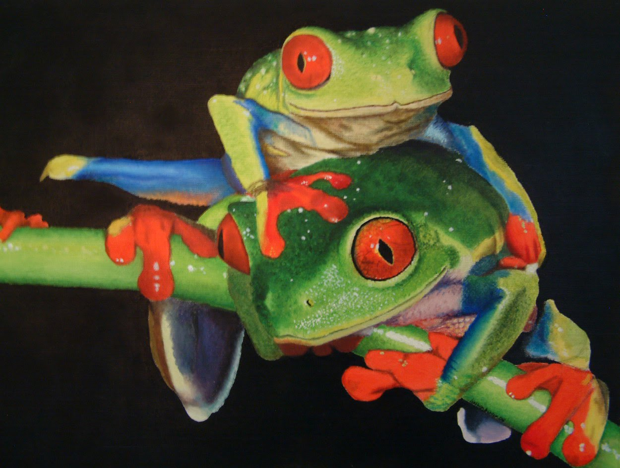 Nathan Buhler's Day Off: oil paintings