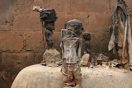 Voodoo-Altar in Benin