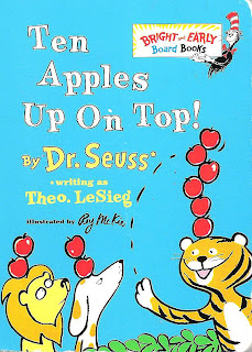 Ten Apples Up on Top Dr Seuss Book