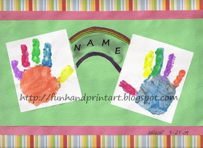 Craft Ideas Handprints on And Footprint And Ocean Crafts Ideas Is Fishy Handprint Ofhandprint