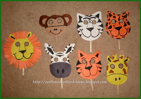 Craft Ideas Birthday Party on For My Son S Jungle Safari Birthday Party He Loved The Owl Mask We