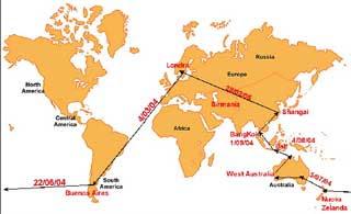 Come fare il giro del mondo, viaggiare per il mondo, consigli per un viaggio intorno al mondo