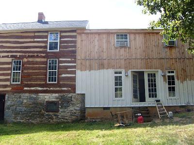 Painting log cabin exterior colors joy studio design for Cabin exterior paint colors