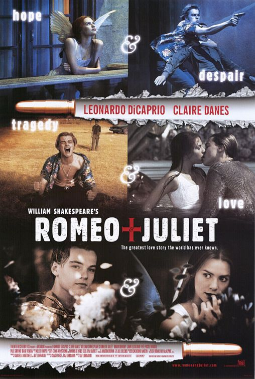 romeo and juliet. Celebrity: romeo and juliet leonardo dicaprio claire danes