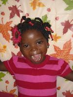 Lucy in Haiti